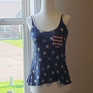 Venus Flag 4th of July Tank Top Stars Stripes